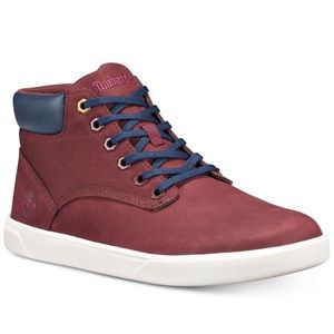 Timberland Men's Groveton Sneakers nubuck leather